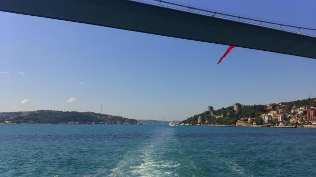 Bosphorus cross continental swim
